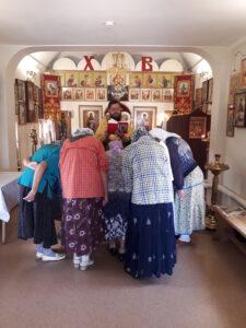28 июля 2020 года, в день Крещения Руси, в нашем храме совершились Божественная  Литургия и Праздничный молебен