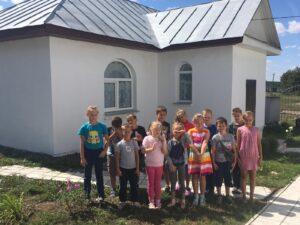 Встреча священника с учениками средней школы №2 г. Нижний Ломов с. Вирга