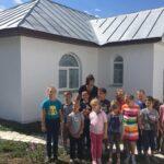 Фотогалерея. Встреча священника с учениками средней школы №2 г. Нижний Ломов с. Вирга