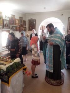 Всенощное бдение с чином Погребения Плащаницы Богородицы