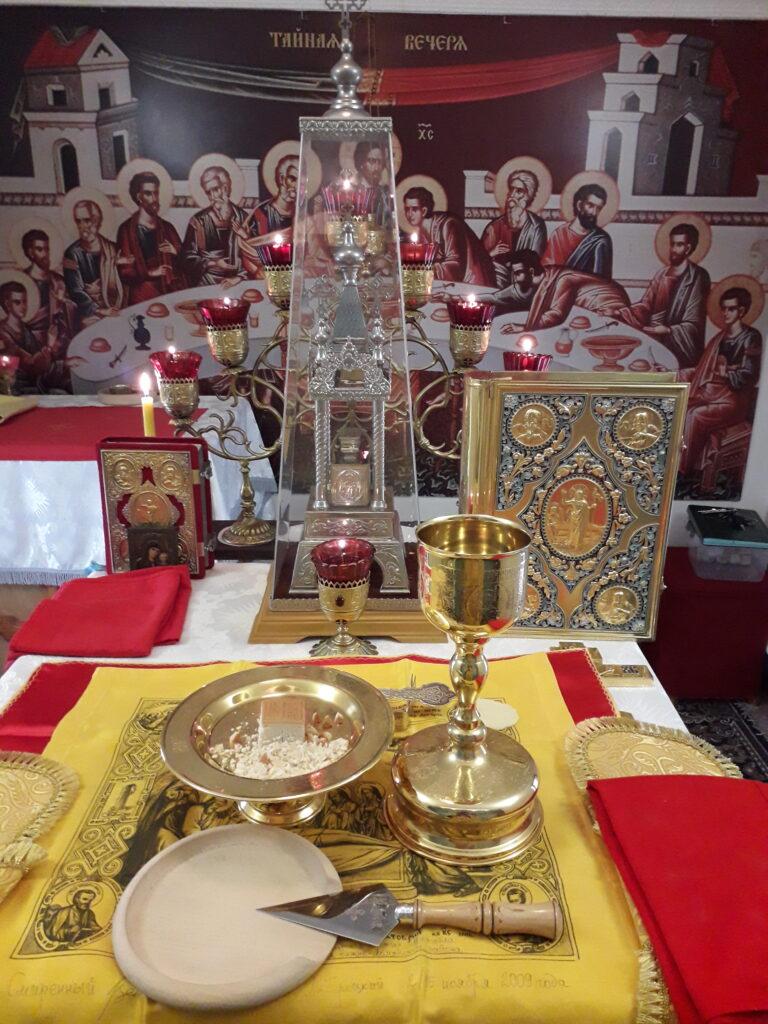 Богослужения в Неделю 15-ю по Пятидесятнице.