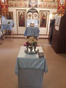 21 сентября 2020 года,  праздник Рождества Пресвятой Владычицы нашей Богородицы и Приснодевы Марии