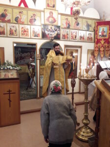 Праздничная служба в день памяти святителя Николая Чудотворца