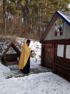 Крестный ход в селе Вирга