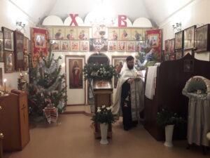 Праздничное Рождественское Богослужение в нашей церкви