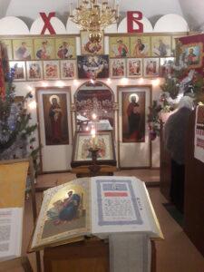 Крещенский сочельник в нашем храме