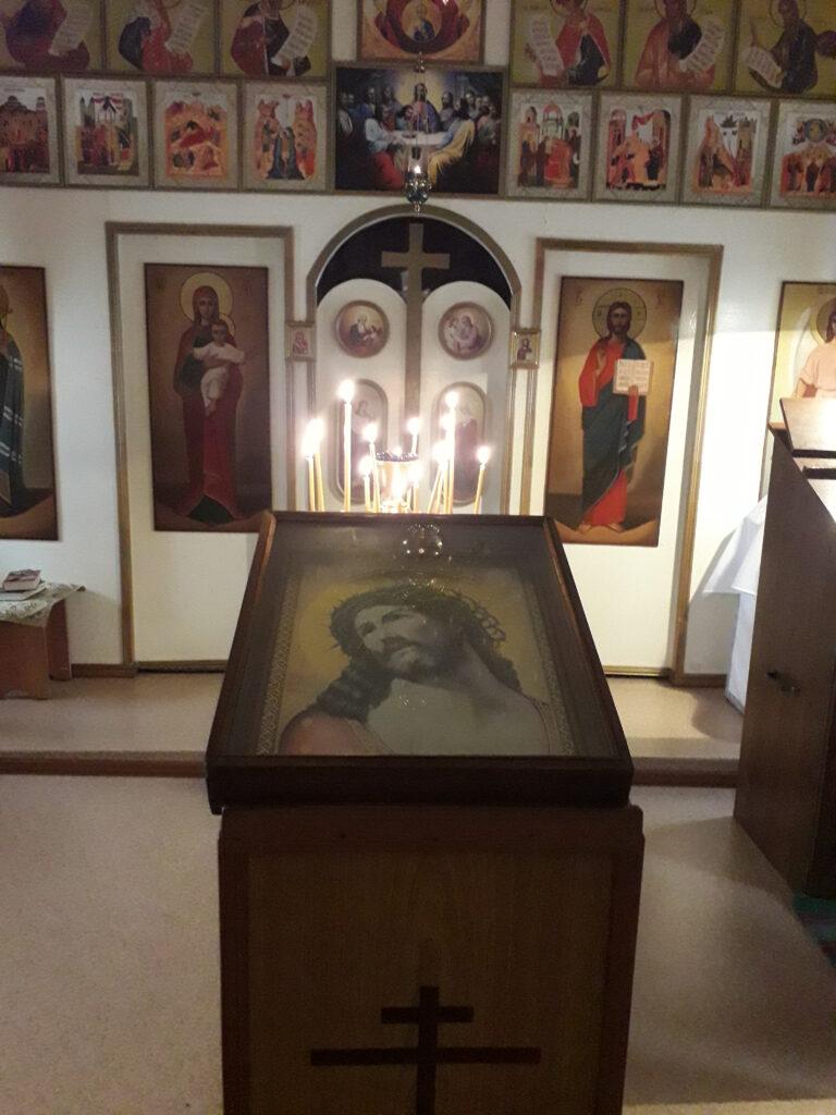 В первую седмицу Великого поста в нашей церкви совершается Великое повечерие с чтением Великого канона преподобного Андрея Критского