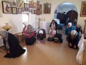 Богослужение в Неделю 1-ю Великого поста. Торжество Православия.