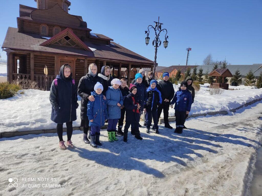 Паломническая поездка школьников с. Вирга