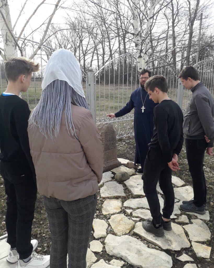 Посещение церкви старшеклассниками школы с. Вирга