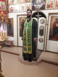 Божественная литургия в Вербное воскресенье 2021года