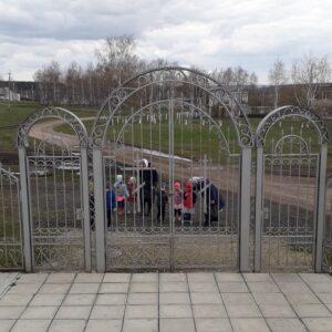 Открытый урок для группы детского сада в церкви села Вирга