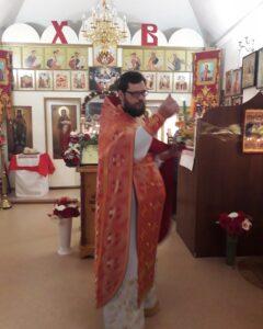 Пасхальное богослужение в нашей Церкви