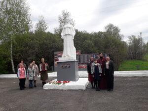 Поздравление ветеранов на праздник День Победы, 9 мая 2021 года, в селе Вирга