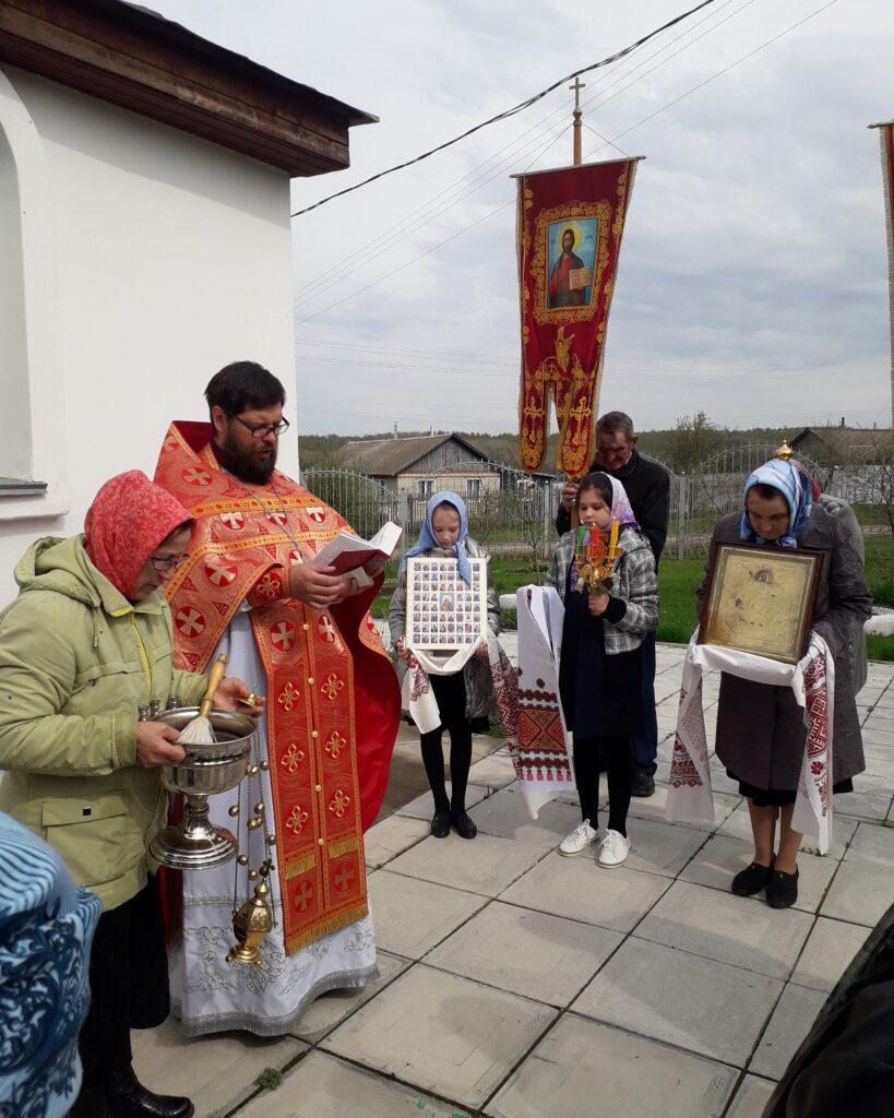 Крестный ход в Антипасху. Неделя Апостола Фомы.
