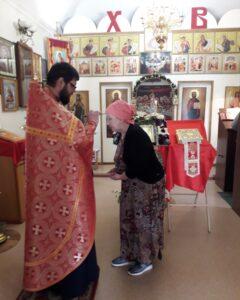Богослужения в неделю святых жен-мироносиц