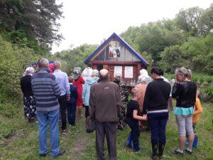 Молебен на Святом источнике в честь святителя Николая Чудотворца в с. Вирга