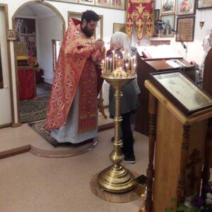 Богослужение в 4-ю неделю по Пасхе о расслабленном