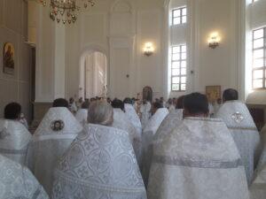 В день празднования Собора Пензенских святых Высокопреосвященный митрополит Серафим освятил икону священномученика Фео́дора Каллистова в Спасском кафедральном соборе