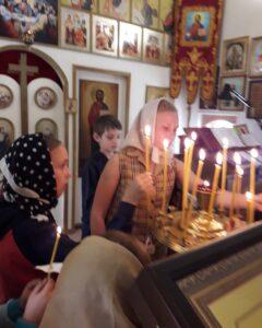 Экскурсия в Михайло-Архангельскую церковь с.Вирга