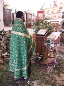 День Святой Троицы в нашей церкви