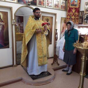 Богослужение в неделю 1-ю по Пятидесятнице. Всех святых.