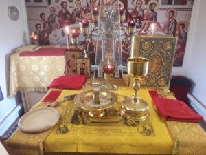Богослужения в неделю 4-ю по Пятидесятнице. Обретение честных мощей преподобного Сергия, игумена Радонежского.
