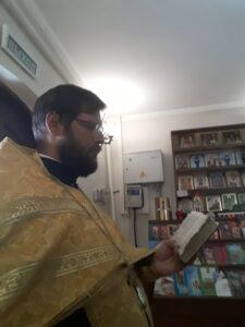 Богослужение в неделю 8-ю по Пятидесятнице. Перенесение мощей первомученника, архидиакона Стефана.