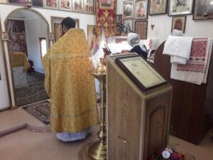 Богослужения  в 5-ю неделю по Пятидесятнице