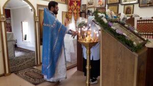 Праздник Успения Пресвятой Богородицы в нашей церкви