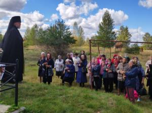 Освящение Поклонного креста в селе Аршиновка